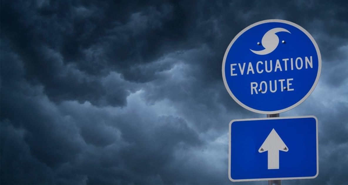 Emergency evacuation - Storm