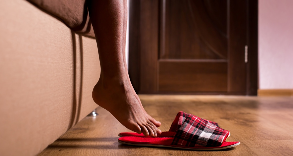 Foot - Stock photography