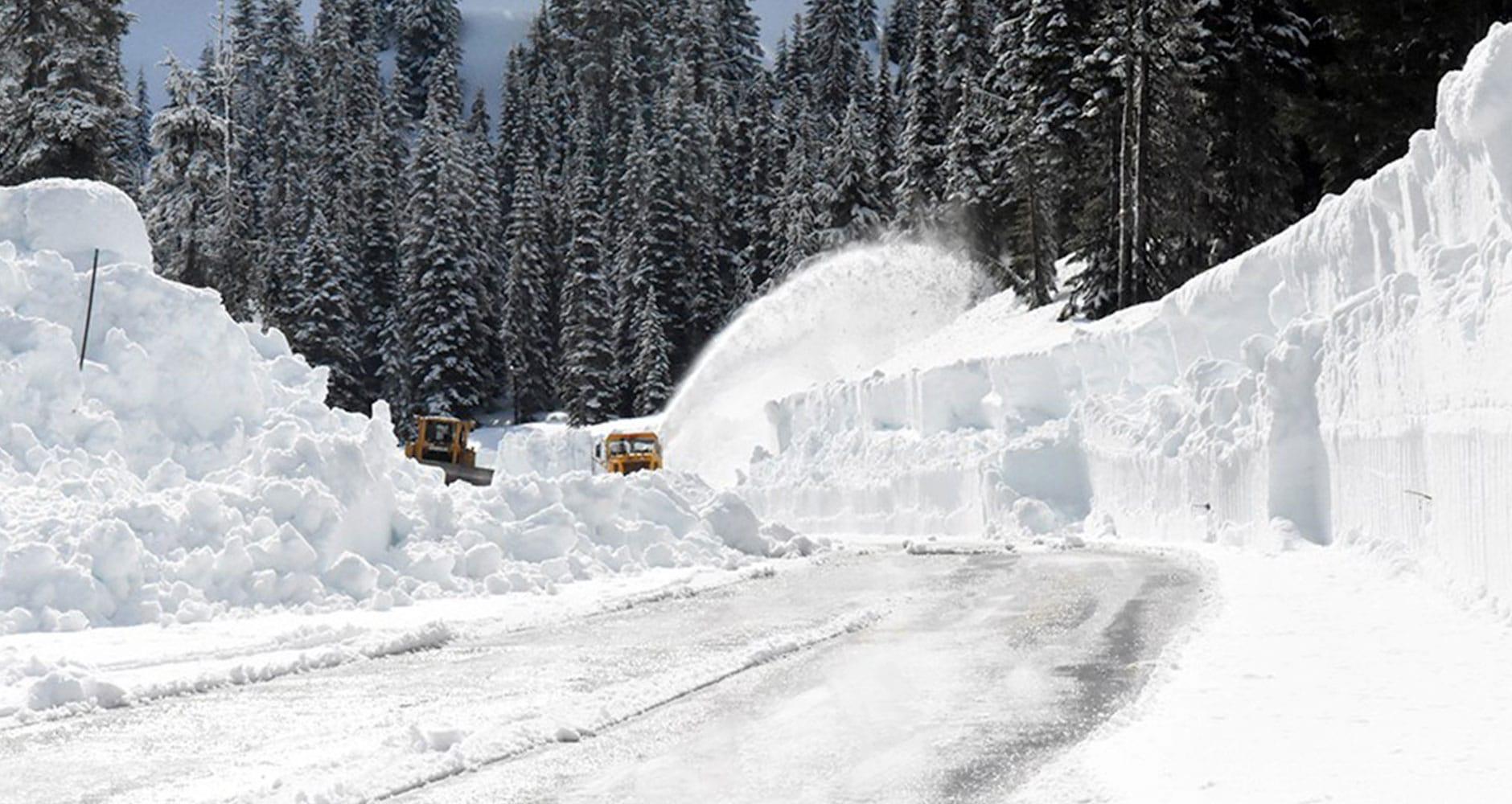 snowiest places