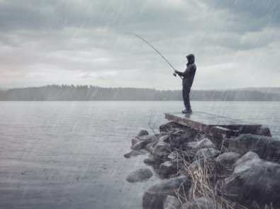 5 Tips for Fishing in the Rain featured image