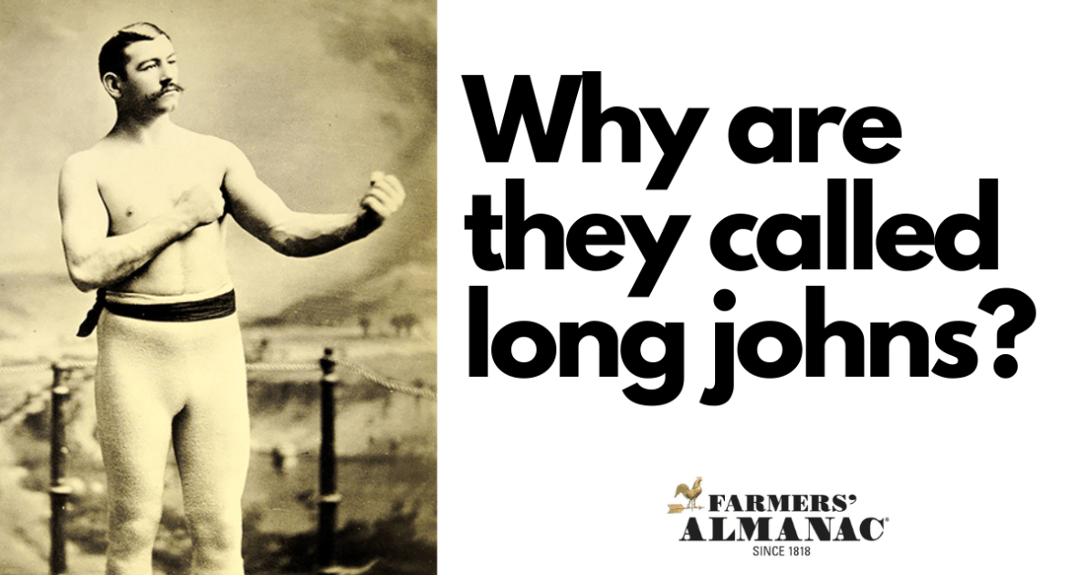 why are they called long johns?