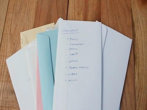Reuse Those Envelopes! image