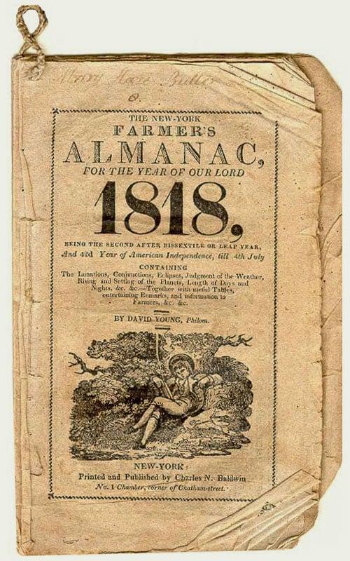 Farmers Almanac History