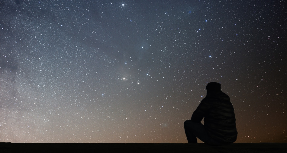 Look Up At The Night Sky (December 2020)