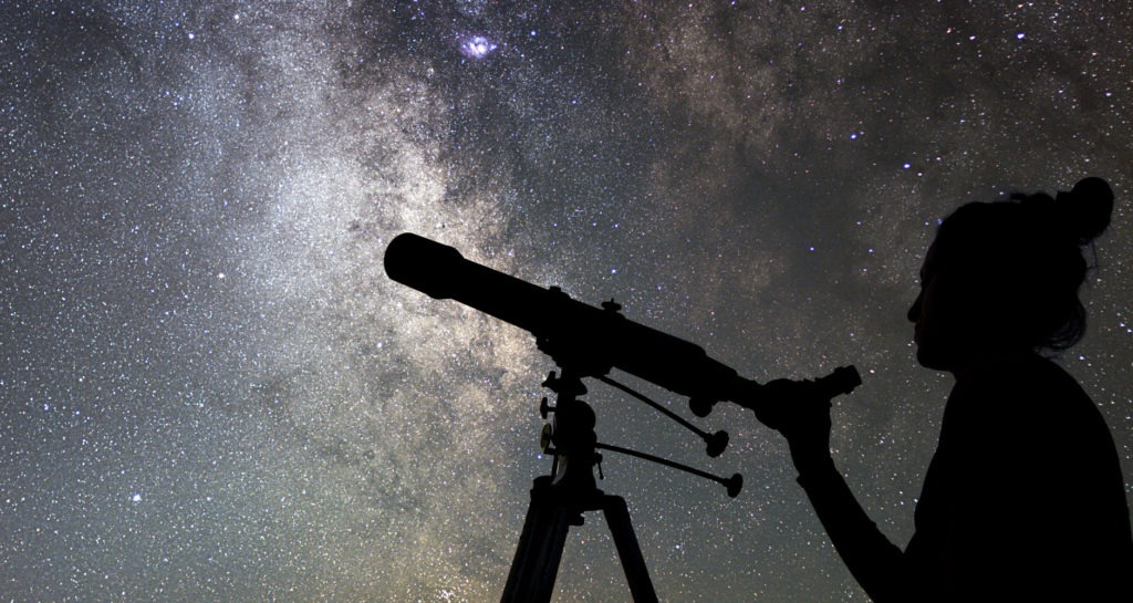 Look Up At The Night Sky (October 2020)
