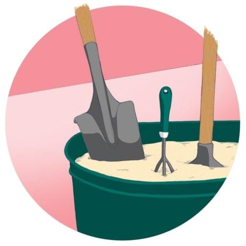 Eliminate Rust On Garden Tools image