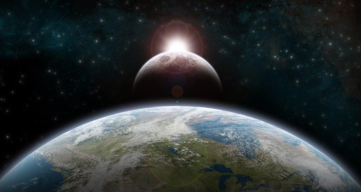 Solar eclipse - Earth