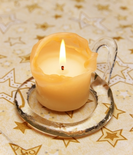 Remove Candle Wax Easily image