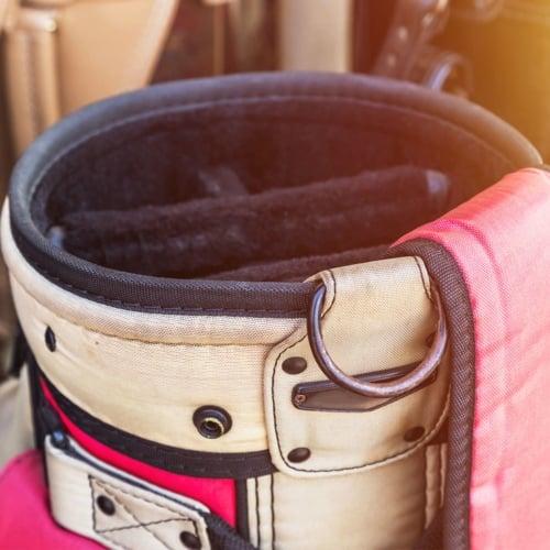 Repurpose An Old Golf Bag image