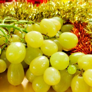 Eat Grapes For Luck! image