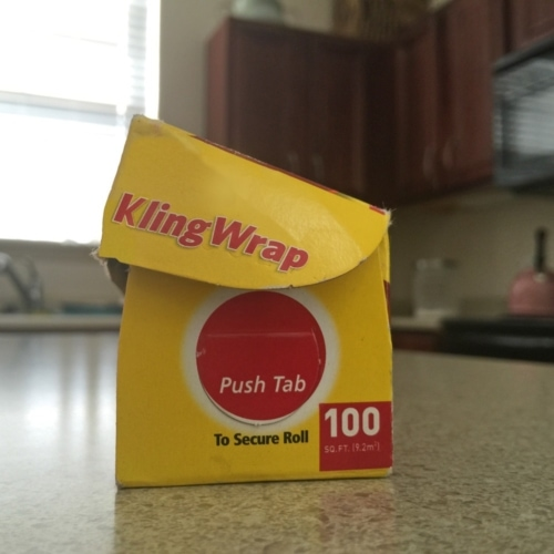 Keep Foil and Plastic Wrap Rolls In Place image