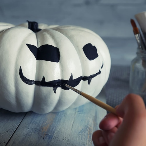 Pumpkin Art: No Carving Required! image