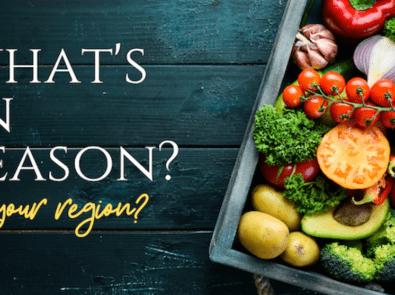 Fruits in Season – Vegetables in Season featured image