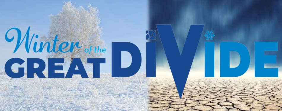 Winter of the Great Divide Banner by Farmers' Almanac.