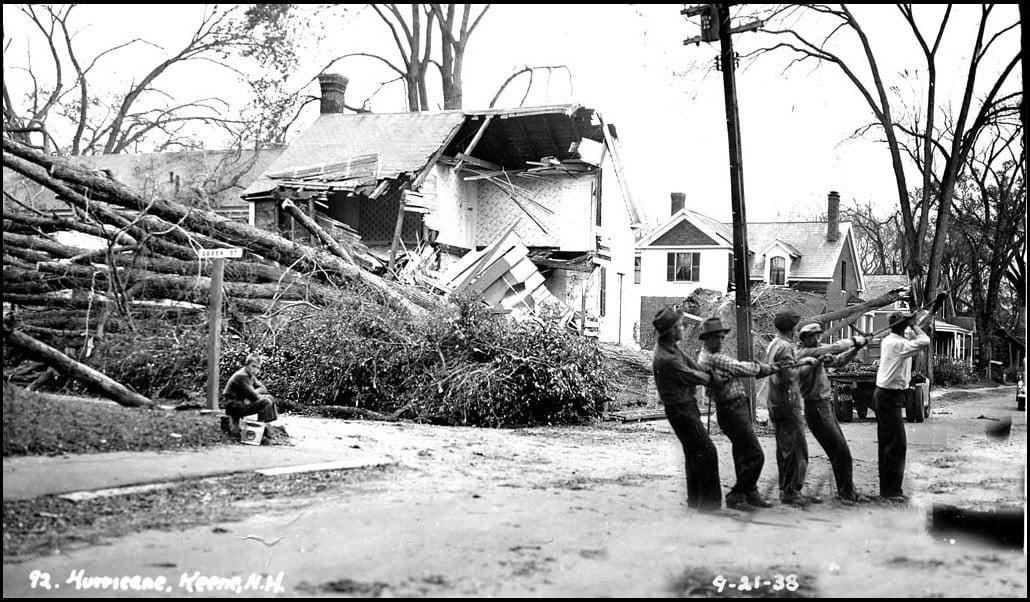 1938 New England hurricane - Keene