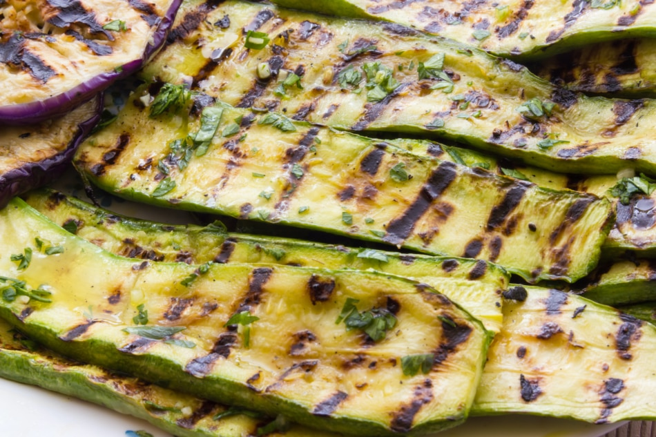 Grilled zucchini - Courgette