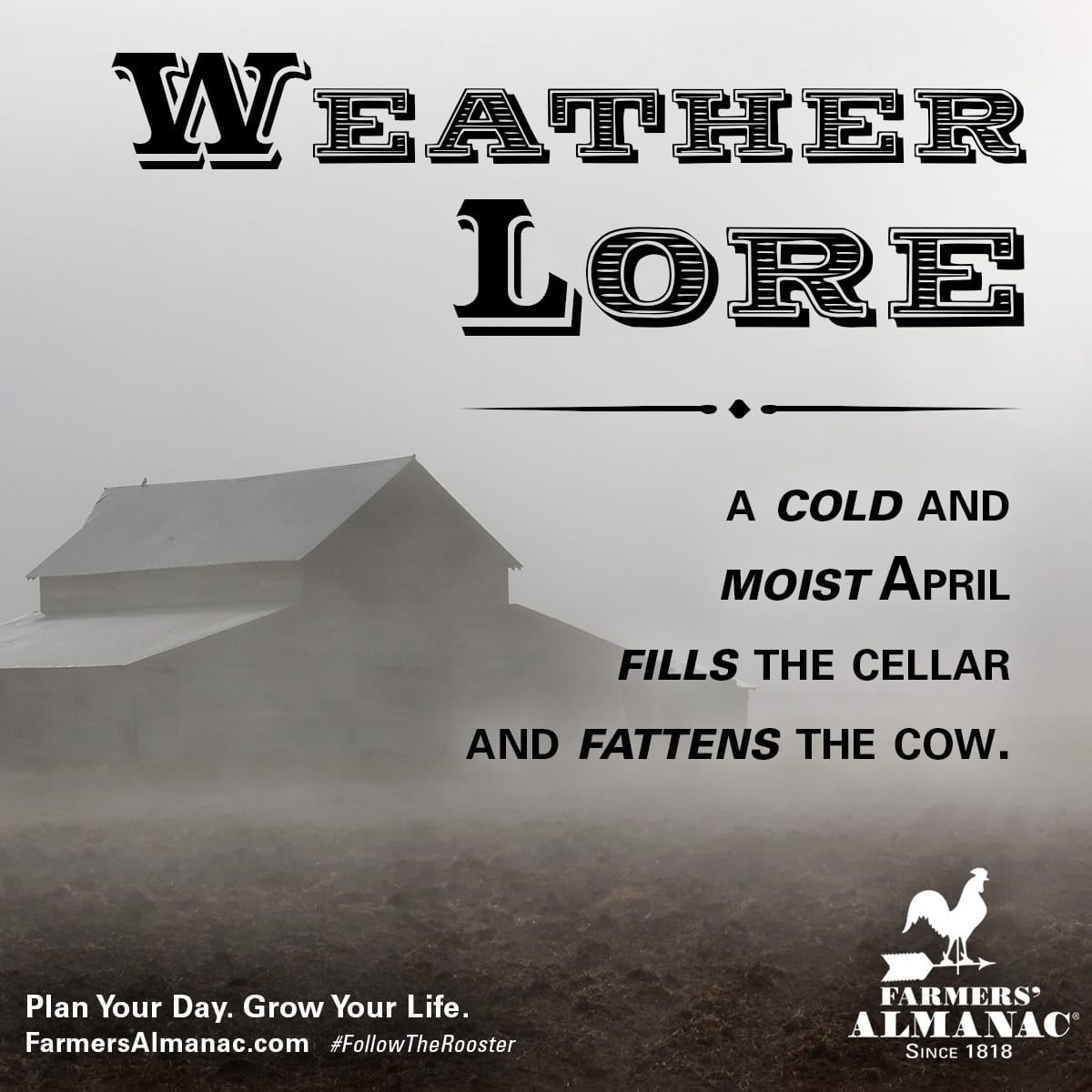 9 April Weather Lore Sayings You May Not Know Farmers Almanac