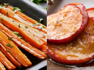 Baked Apple and Carrot Slices featured image