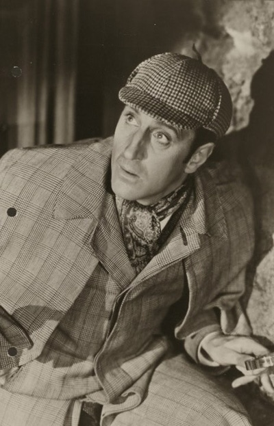 Some people say David Young resembled the actor Basil Rathbone.
