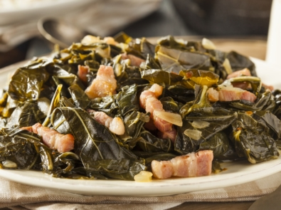 Southern Style Collard Greens featured image