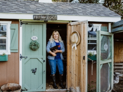 DIY Chicken Coop: Turn an Unused Shed Into A Chicken Coop featured image