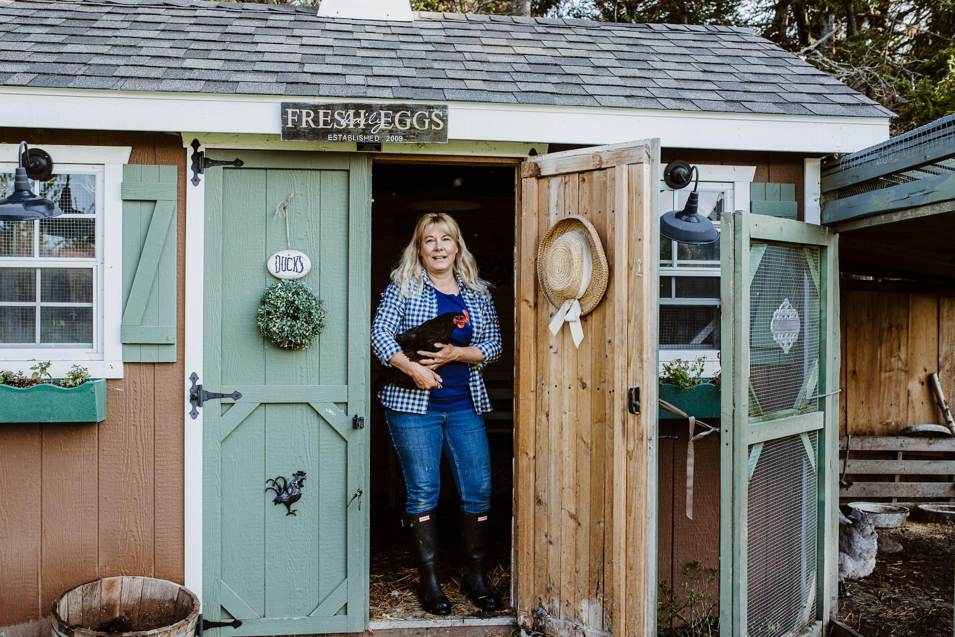 Diy Chicken Coop Turn An Unused Shed Into A Chicken Coop Farmers Almanac