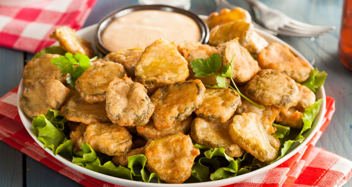 French fries - Fried pickle