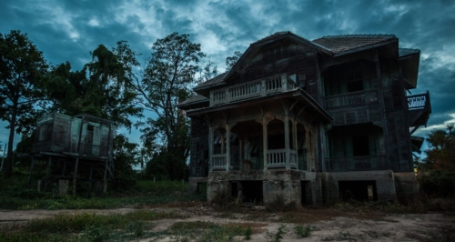 Haunted house - Ghost