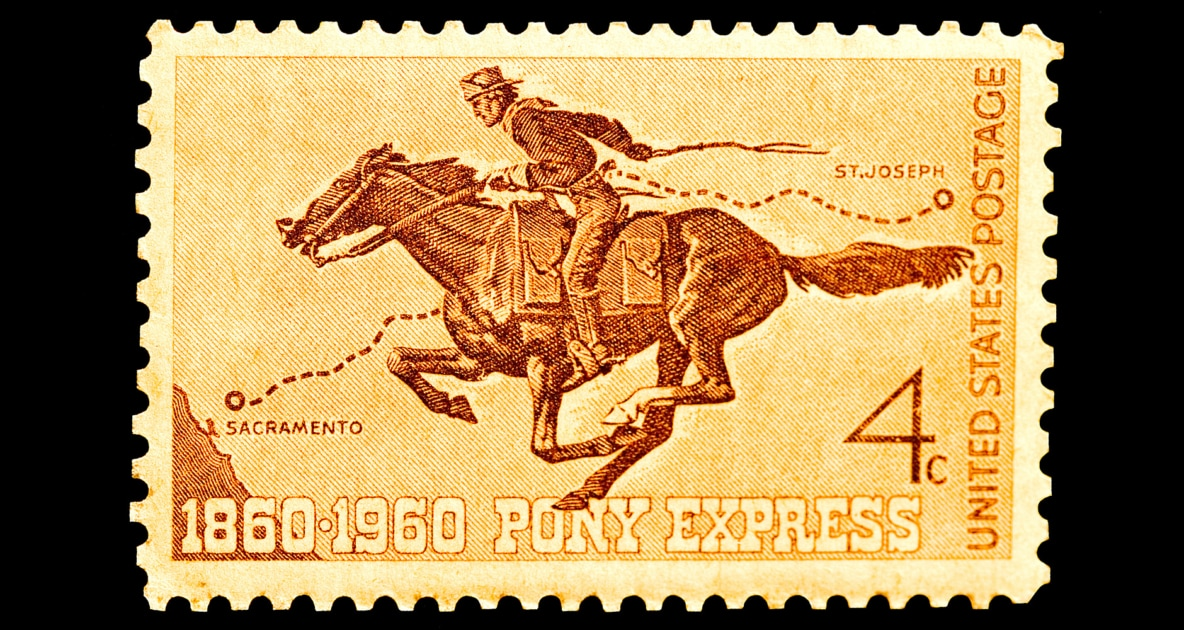 Pony Express - Patee House Museum And Jesse James Homes