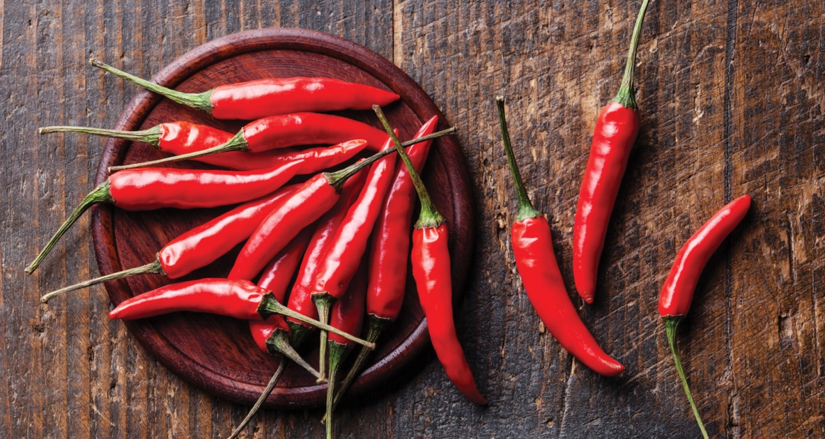 Bell Pepper - Cayenne pepper