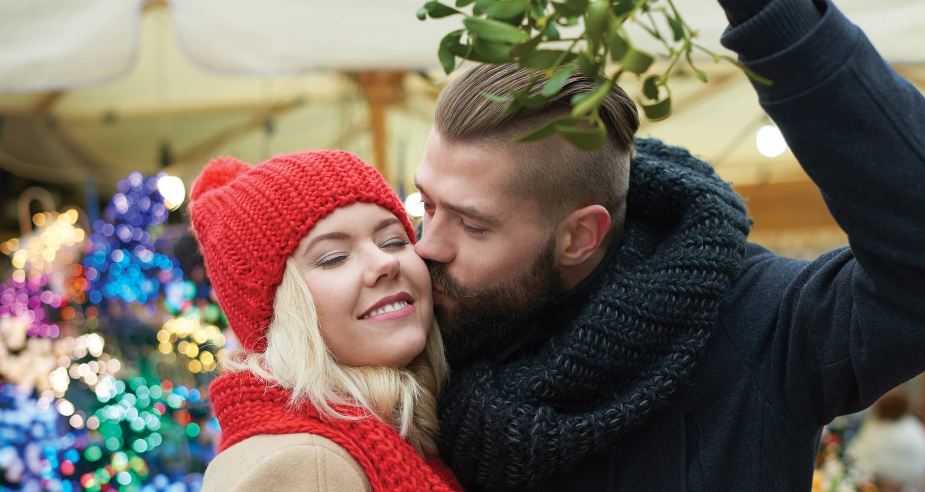 Why Do We Kiss Under The Mistletoe?image preview