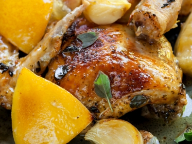 Easy Lemon Thyme Chicken featured image