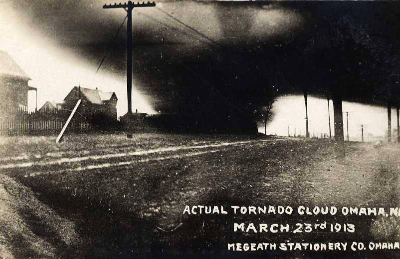 Tornado outbreak sequence of March 1913 - 1975 Omaha tornado outbreak