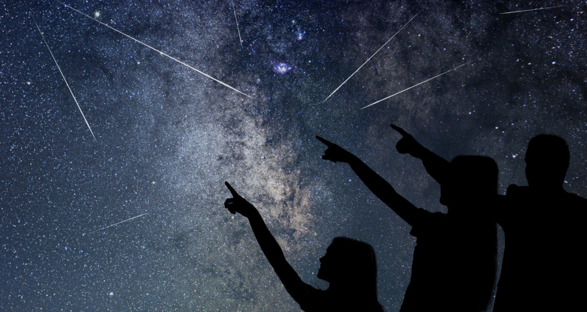 Star - Meteor Shower