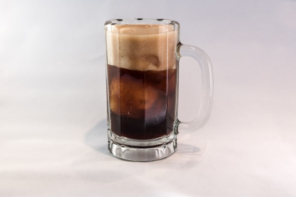 Frosty mug of rootbeer