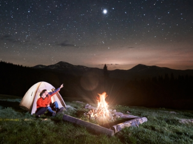 Look Up At The Night Sky (August 2020) featured image