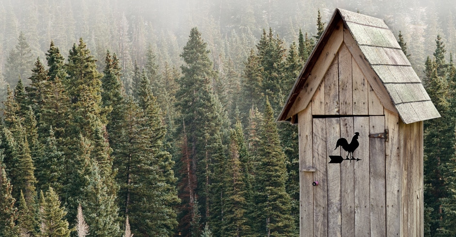 Door - Outhouse