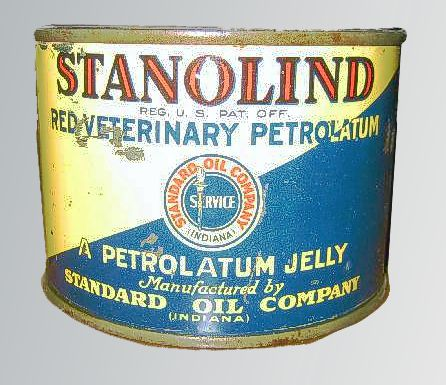 A jar of Red Veterinary Petrolatum
