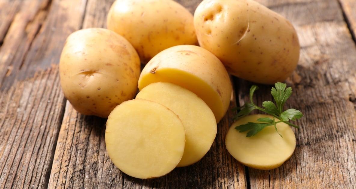 Potato - Eating