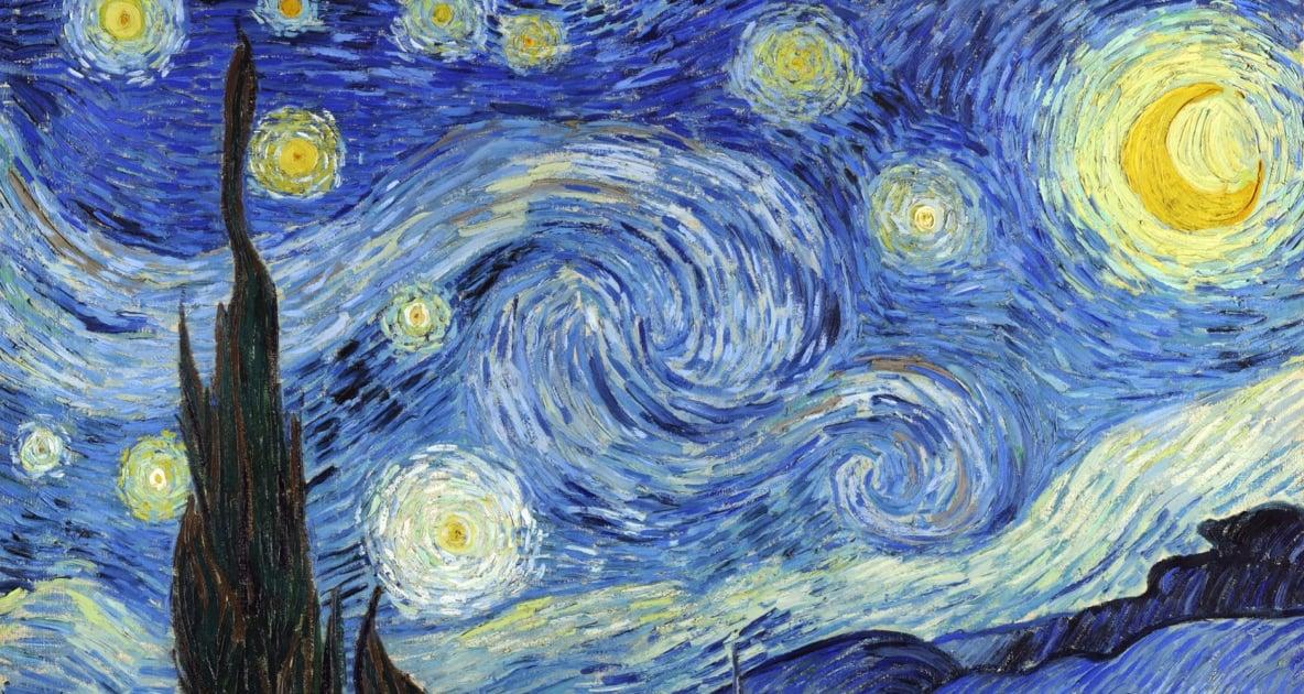 The Starry Night - Van Gogh, the Starry Night