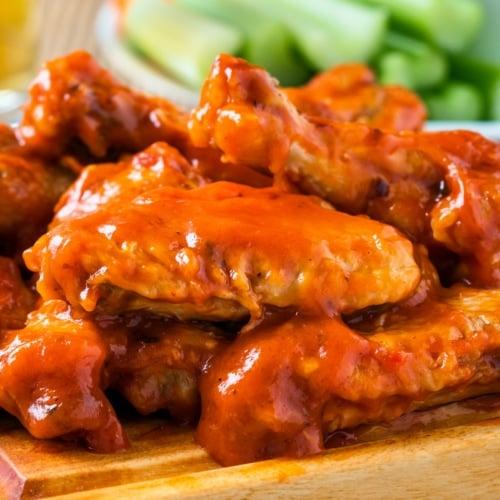 Buffalo wing - Fried chicken
