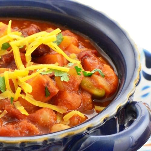 Chili con carne - Vegetarian cuisine