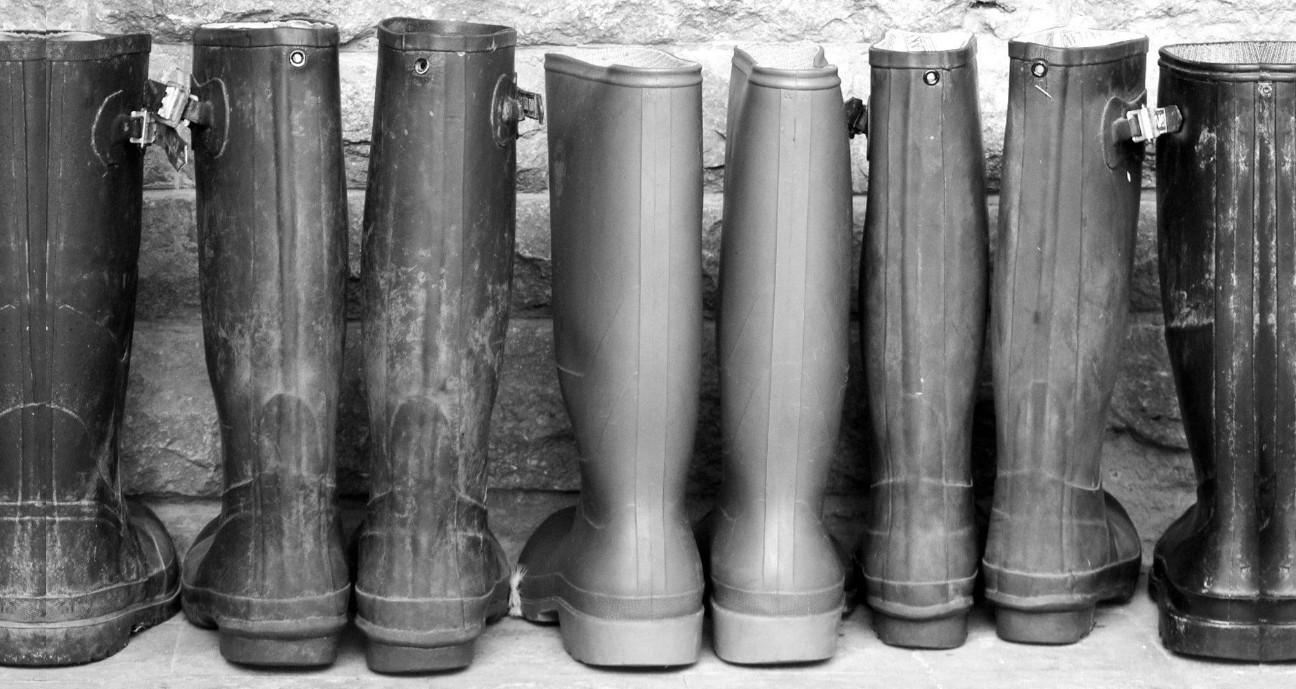 rain boots trivia