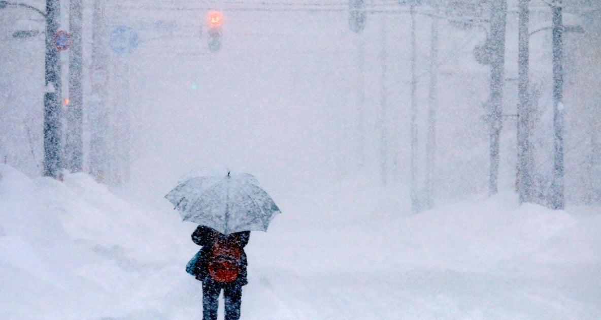 Winter storm - Storm