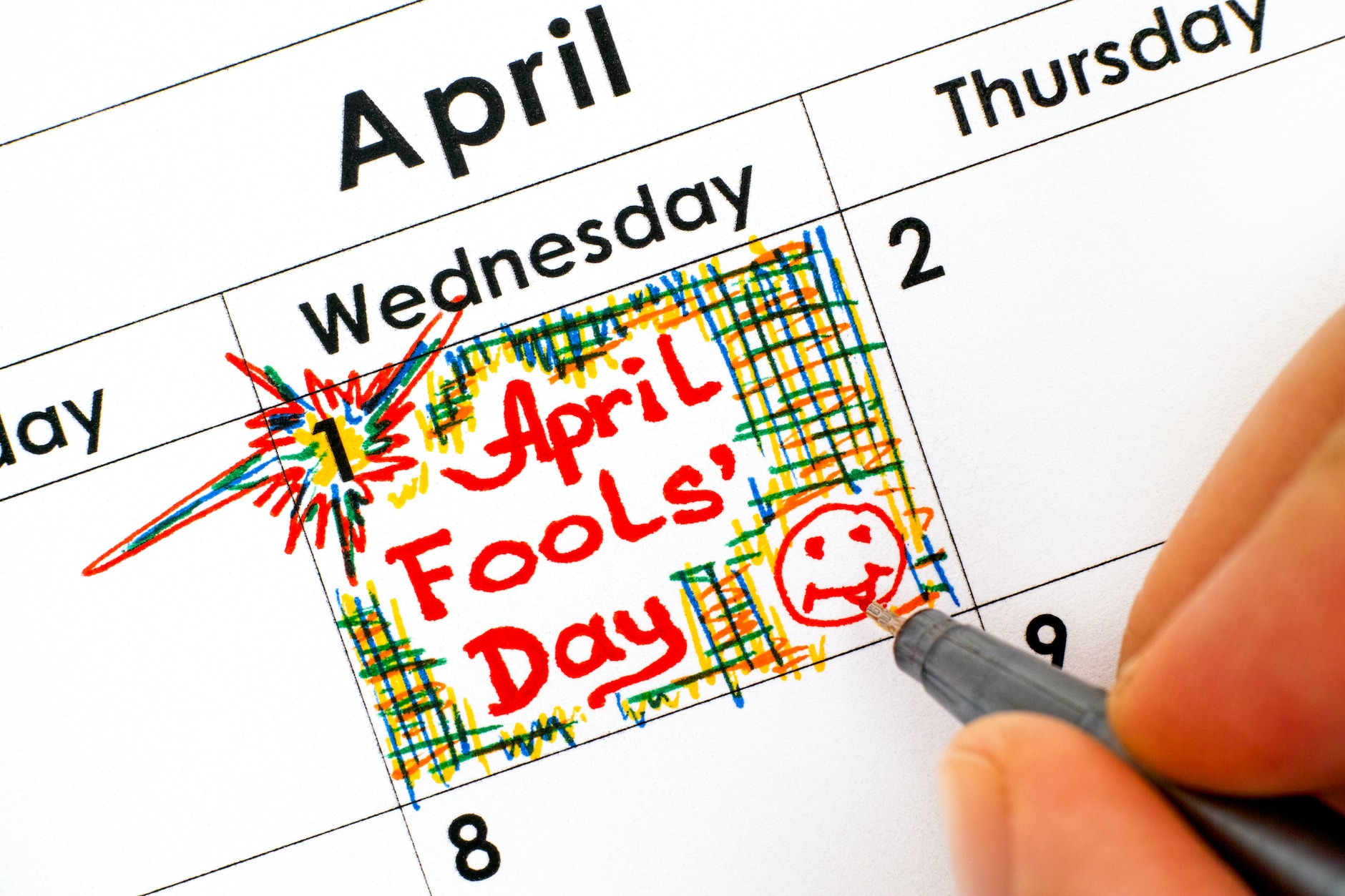 "How Did April 1 Become ""April Fools' Day""? - Farmers' Almanac"