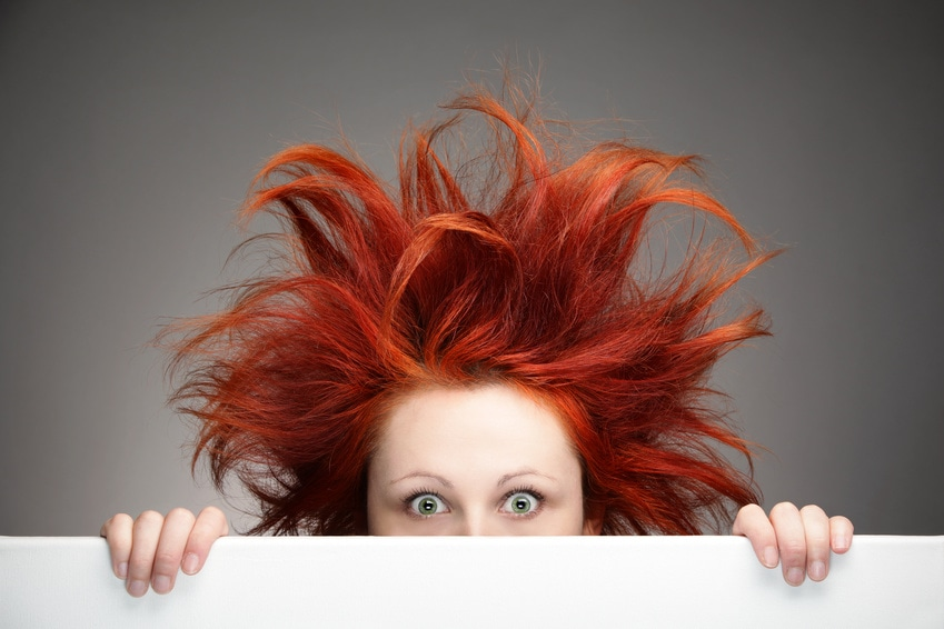 Hair - Stock photography
