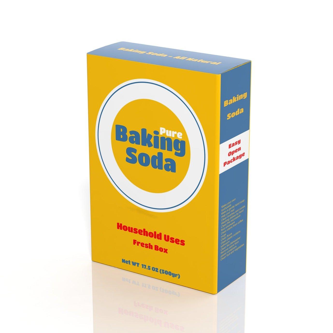 baking soda uses - box of baking soda