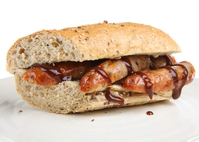 Hot Dogs in Tangy Barbecue Sauce featured image