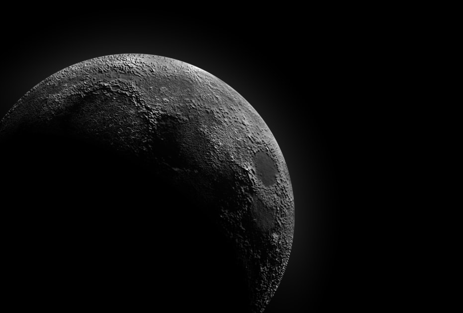 The Dark Side of the Moon - Moon