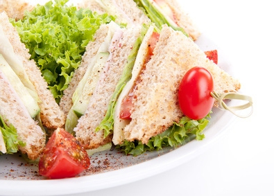 Chicken Curry Tea Sandwiches featured image